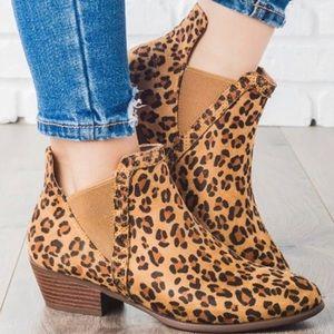 Shoes - ♥️Popular Restock!  Leopard Print Booties
